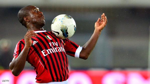 AC Milan's Dutch midfielder Clarence See