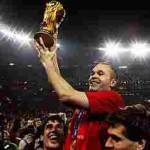 انيستا يتمنى ان يشهد عام 2014 فوز اسبانيا ببطولة كأس العالم