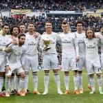 رونالدو يحتفل بجائزة الكرة الذهبية مع زملائه وجماهير الريال قبل مباراة غرناطة