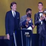 رونالدو يفوز بالكرة الذهبية