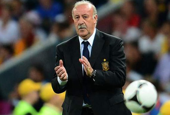 ديل بوسكي: منتخب إسبانيا توج بطلا في عهد ميسي وكريستيانو