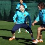 برشلونة يستعيد إنييستا وبويول