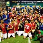 الاهلى افضل فريق فى افريقيا لعام 2013