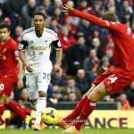 فيديو .. ليفربول يقتنص فوزا مثيرا من سوانزى فى مباراة ممتعة