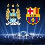 سيتي يختبر قوته الحقيقية أمام برشلونة في أصعب إختبار له هذا الموسم بدوري الأبطال
