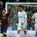 ميسى يحسم الكلاسيكو لصالح برشلونة