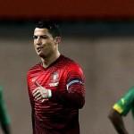 رونالدو اصبح الهداف التاريخى للبرتغال