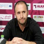 الجزائرى بلماضى مديرا فنيا لمنتخب قطر