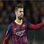 بيكيه يغيب عن برشلونة بسبب الاصابة