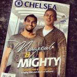 """صلاح """"الساحر"""" يتصدر غلاف مجلة تشيلسى"""
