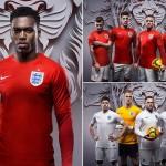 صور .. قميص المنتخب الانجليزى فى كأس العالم