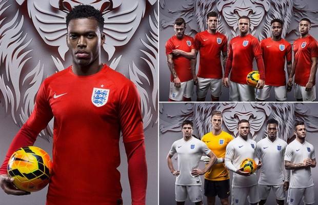 قميص المنتخب الانجليزى