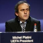 بلاتيني يسلم لشبونة كأس دوري أبطال أوروبا