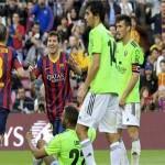 فيديو .. برشلونة يكتسح اوساسونا بسبعة اهداف وميسى يتربع على عرش هدافى برشلونة