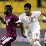 البحرين تحافظ على صدارتها للمجموعة الرابعة بالتعادل مع قطر