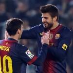 بيكيه يمدد تعاقده مع برشلونة حتى 2019