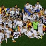 """فيديو و صور … ليلة """"بيضاء"""" فى مدريد"""