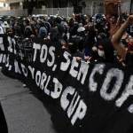 البرازيليون يحتجون مجددا في الشوارع ضد كأس العالم
