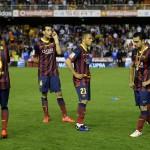 مشجع لبرشلونة يتعرض لضرب مبرح من الشرطة خلال مباراة ريال مدريد