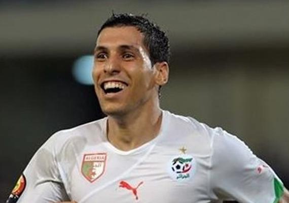 مطمور لاعب المنتخب الجزائرى