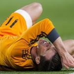 """قلق في ريـال مدريد بعد إصابة """"بيل"""" بجرح في الركبة"""