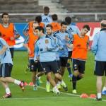 منتخب إسبانيا يصل إشبيلية استعدادا لمواجهة بوليفيا