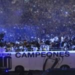 فيديو وصور .. احتفالات لاعبو الريال باللقب الاوروبى مع جماهير مدريد