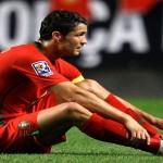 إصابة كرستيانو فى معسكر المنتخب أستعداداً لكأس العالم