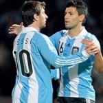 ميسى يريد أجويرو فى برشلونة