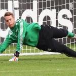 نوير ولام يبدأن التدريبات مع منتخب المانيا استعدادا لكأس العالم