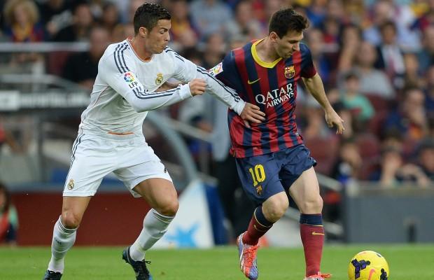 Cristiano and Messi