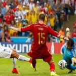 اهداف مباراة تشيلى 2 – 0 اسبانيا