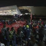 اليوم الثاني لإضراب عمال مترو ساو باولو يبدأ بمواجهات مع الشرطة