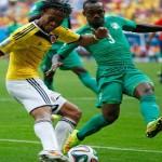 فيديو .. كولومبيا تضرب الافيال وتقترب من التأهل