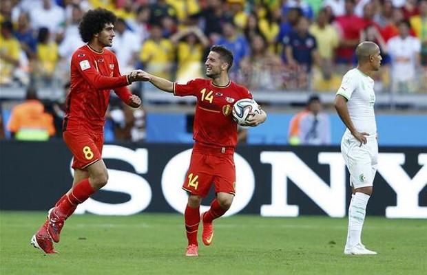 بلجيكا---الجزائر