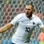 بنزيما رجل مباراة فرنسا وسويسرا