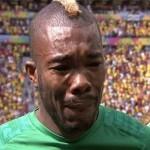 سيرى دى لاعب الكوت ديفوار يبكي تأثرا باللعب في كأس العالم وليس على والده
