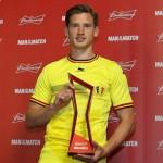 فيرتونجين أفضل لاعب في مباراة بلجيكا و كوريا