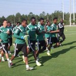 تدريبات المنتخب النيجيرى