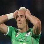 اصابة جديدة ليبدة لاعب الجزائر قبل انطلاق المونديال