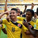 اهداف مباراة كولومبيا 2 – 1 كوت ديفوار