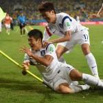 كوريا الشمالية تصدر طوابع بريد خاصة بكأس العالم