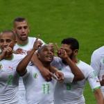 لاعبو الخضر  يتعاهدون على الفوز امام روسيا