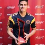 رودريجيرز أفضل لاعب في مباراة كولومبيا وكوت ديفوار