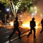 اعتقال 74 شخصا في فرنسا خلال الاحتفال بتأهل الجزائر لثمن نهائي المونديال