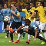 رئيس اوروجواي يستقبل منتخب بلاده العائد من البرازيل