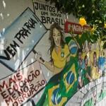 الجرافيتى يزين شوارع البرازيل استعداداً للمونديال