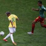 نيمار يسجل الهدف رقم 100 بالمونديال في المباراة رقم 100 للسامبا