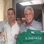 الدفاع المغربى يقدم حسن شحاته للاعلام