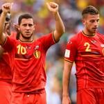 هازارد أفضل لاعب في لقاء بلجيكا وروسيا